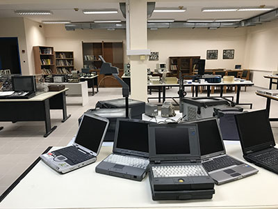 Overview of temporary Museum of Informatics & Telecommunications